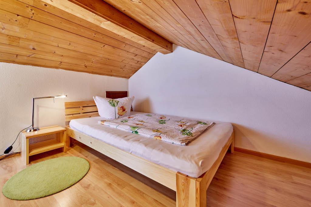 Wohnzimmer 5, Empore, Einzelschlafplatz
